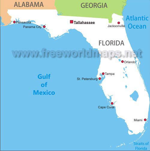 florida-simple-map