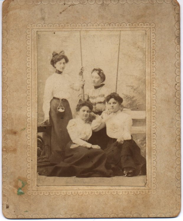 josephine campbell -bottom right- and unks